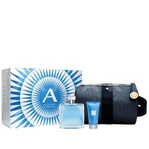 Azzaro Chrome Eau de Toilette 30ml + All Over Shampoo 50ml + Несесер мъжки комплект