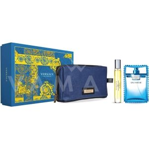 Versace Man Eau Fraiche Eau De Toilette 100ml + Bath & Shower Gel 100ml + Несесер мъжки комплект 2015