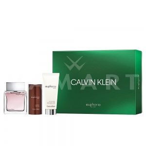 Calvin Klein Euphoria Men Eau de Toilette 100ml + After Shave Balm 100ml + Deodorant Stick 75ml мъжки комплект