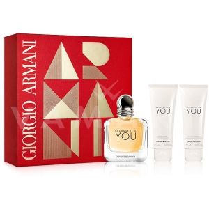 Armani Because It's You Eau De Parfum 50ml + Shower gel 75ml + Body Lotion 75ml дамски комплект