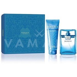 Versace Man Eau Fraiche Eau De Toilette 100ml + Bath & Shower Gel 150ml мъжки комплект