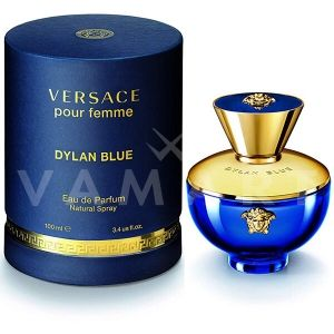 Versace Dylan Blue Pour Femme Eau de Parfum 50ml + Body Lotion 50ml + Bath & Shower Gel 50ml Дамски комплект
