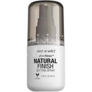 Wet n Wild Photo Focus Natural Finish Setting Spray Фиксиращ спрей за грим
