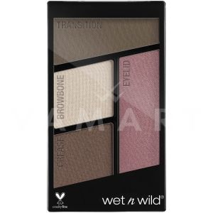 Wet n Wild Color Icon Eyeshadow Quad 4 Палитра сенки за очи 359 Sweet As Candy