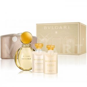 Bvlgari Goldea Eau de Parfum 90ml + Body Milk 75ml + Shower Gel 75ml + Несесер дамски комплект