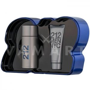 Carolina Herrera 212 Men Eau de Toilette 100ml + Shower Gel 100 ml мъжки комплект