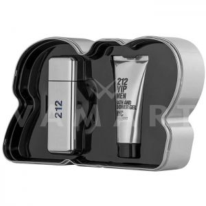 Carolina Herrera 212 Vip Men Eau de Toilette 100ml + Shower Gel 100 ml Мъжки комплект