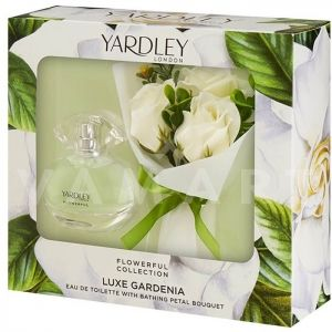 Yardley London Flowerful Collection Luxe Gardenia Eau de Toilette 50ml дамски + сапун Цветен букет