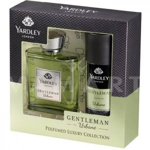 Yardley London Gentleman Urbane Eau de Parfum 100ml + Deodorant Spray 150ml мъжки комплект