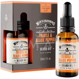 Scottish Fine Soaps Thistle & Black Pepper Beard Oil 30ml Олио за брада