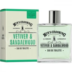 Scottish Fine Soaps Vetiver & Sandalwood Eau de Toilette 100ml мъжки