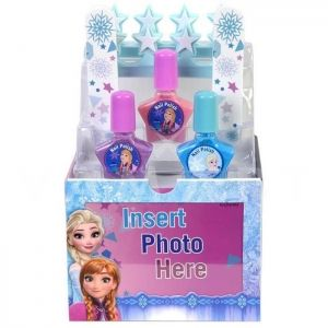 Markwins Disney Frozen Ice Cool Nail Storage and Photo Box Комплект лакове с кутия