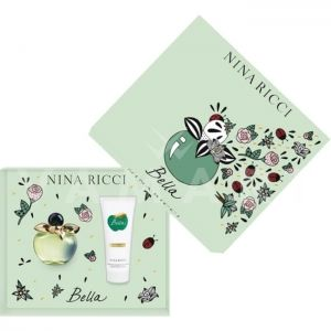 Nina Ricci Bella Eau De Toilette 50ml + Body Lotion 75ml дамски комплект