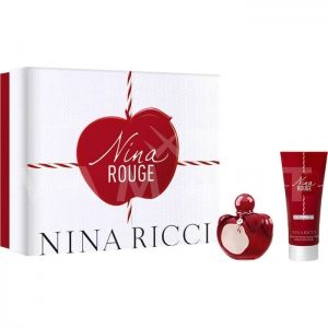 Nina Ricci Nina Rouge Eau De Toilette 50ml + Body Lotion 75ml дамски комплект