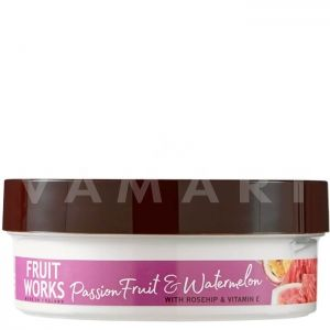 Grace Cole Fruit Works Passion Fruit & Watermelon Body Butter 225ml Масло за тяло