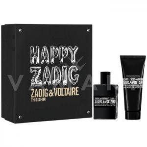 Zadig & Voltaire This is Him Eau de Toilette 50ml + All Over Shower Gel 100ml мъжки комплект
