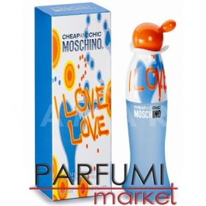 Moschino Cheap and Chic I Love Love Eau de Toilette 50ml дамски