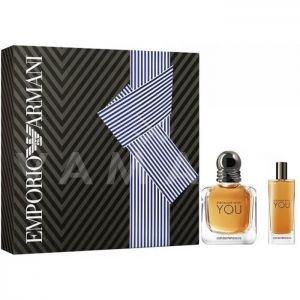 Armani Stronger With You Eau de Toilette 50ml + Eau de Toilette 15ml мъжки комплект