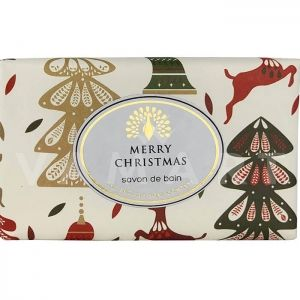 The English Soap Company Reindeer & Christmas Trees Луксозен растителен сапун 200g