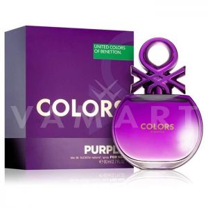 Benetton Colors Purple Eau de Toilette 80ml дамски без опаковка