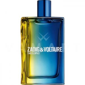 Zadig & Voltaire This Is Love for Him Eau de Toilette 100ml
