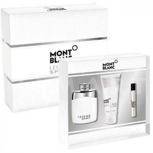 Mont Blanc Legend Spirit Eau de Toilette 100ml + Eau de Toilette 7.5ml  + After Shave Balm 100ml мъжки комплект