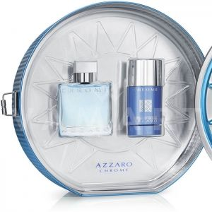 Azzaro Chrome Eau de Toilette 50ml + Deodorant Stick 75ml мъжки комплект