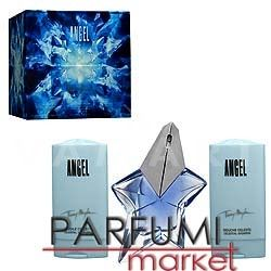 Thierry Mugler Angel Eau de Parfum 25ml + Body Lotion 50ml + Shower Gel 25ml  дамски комплект