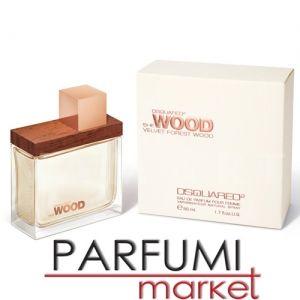 Dsquared2 She Wood Velvet Forest Wood Eau de Parfum 100ml дамски без кутия
