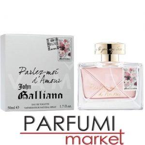 John Galliano Parlez-Moi d'Amour Eau de Toilette 50ml дамски