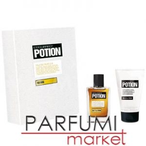 Dsquared2 Potion Eau de Parfum 50ml + Shower gel 100ml мъжки комплект
