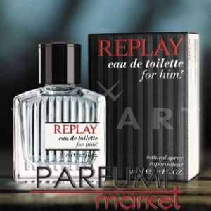 Replay For Him Eau de Toilette 75ml мъжки без кутия