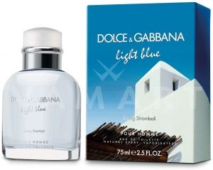 Dolce & Gabbana Light Blue Living Stromboli Eau de Toilette 125ml мъжки без кутия