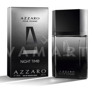 Azzaro Pour Homme Night Time Eau de Toilette 100ml мъжки без кутия