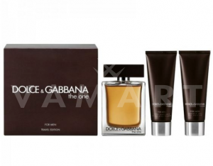Dolce & Gabbana The One for Men Eau de Toilette 100ml + Shower Gel 50ml + After Shave Balm 50ml мъжки комплект