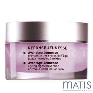 Matis Reponse Jeunesse AvantAge Normal & Combination Skin 30ml Крем-гел за нормална до комбинирана кожа против бръчки