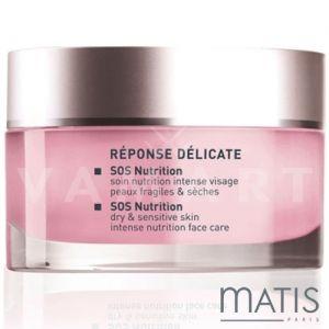 Matis Reponse Delicate SOS Nutrition Dry & Sensitive Skin 50ml Подхранващ крем за чувствителна кожа