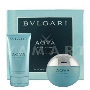 Bvlgari AQVA Pour Homme Marine Eau de Toilette 100ml + Shower Gel 150ml мъжки комплект