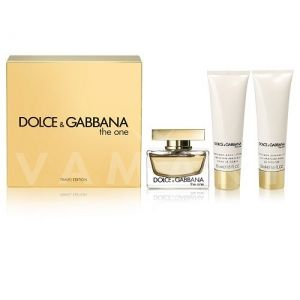 Dolce & Gabbana The One Eau de Parfum 75ml + Body Lotion 50ml + Shower Gel 50ml  дамски комплект
