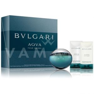 Bvlgari AQVA Pour Homme Eau de Toilette 50ml + After Shave Emulsion 75ml + Shower gel 75ml мъжки комплект