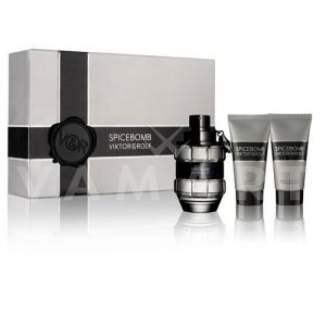 Viktor & Rolf Spicebomb Eau de Toilette 50ml + Aftershave Balm 50ml + Shower Gel 50ml мъжки комплект