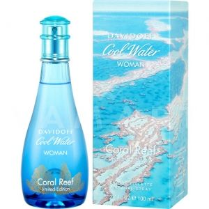 Davidoff Cool Water Woman Coral Reef Eau de Toilette 100ml дамски