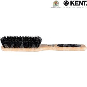 Kent. Hair Brush Perfect For Styling & Smoothing Shorter Hair Четка за коса с естествен косъм