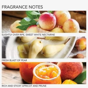 Grace Cole England White Nectarine & Pear Radiance Body Scrub 238ml Сияен скраб за тяло
