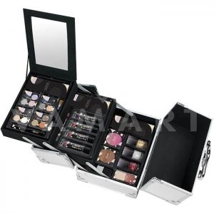 Markwins The Color Workshop Color Play Travel Makeup Case Куфарче с грим 32 части